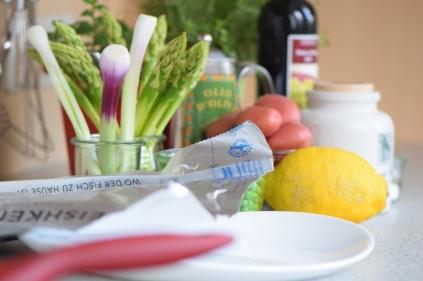 Maischolle mit Kartoffel-Erbsen-Salat (1)