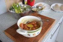 Maischolle mit Kartoffel-Erbsen-Salat (3)