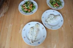 Maischolle mit Kartoffel-Erbsen-Salat (5)