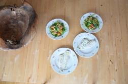 Maischolle mit Kartoffel-Erbsen-Salat (6)