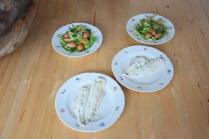 Maischolle mit Kartoffel-Erbsen-Salat (7)