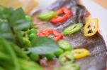 Saibling auf Spargel-Spinat-Kartoffelpüree (12)