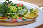 Saibling auf Spargel-Spinat-Kartoffelpüree (13)