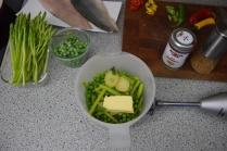 Saibling auf Spargel-Spinat-Kartoffelpüree (2)