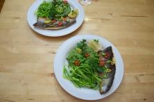 Saibling auf Spargel-Spinat-Kartoffelpüree (8)