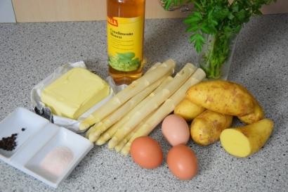 Sauce Hollandaise weißer Spargel (1)