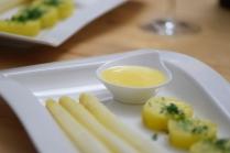 Sauce Hollandaise weißer Spargel (14)