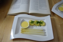 Sauce Hollandaise weißer Spargel (4)