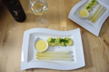 Sauce Hollandaise weißer Spargel (5)