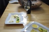 Sauce Hollandaise weißer Spargel (6)