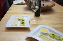 Sauce Hollandaise weißer Spargel (8)