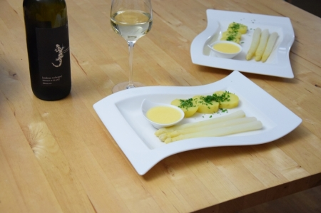 Sauce Hollandaise weißer Spargel (9)