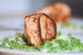 Schweinskarree mit Erbsen-Karfiol (10)