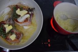 Schweinskotelett Zwiebelsenf Krautsalat (5)