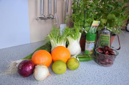 Bohnensalat mit Fenchel und Orangen (1)