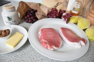 Chicorée-Trauben-Salat (1)