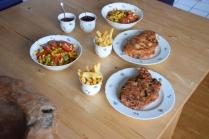Cordon Bleu mit Pommes Frites (3)