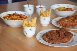 Cordon Bleu mit Pommes Frites (5)