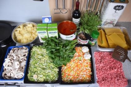 Fleischgemüse-Lasagne (1)