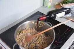 Fleischgemüse-Lasagne (2)