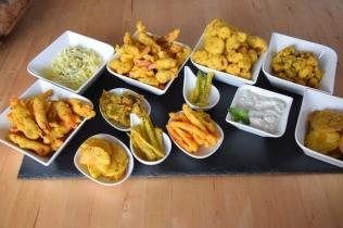 Frittiertes Gemüse (10)