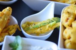 Frittiertes Gemüse (16)