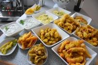 Frittiertes Gemüse (8)