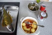 Gebratene Makrele mit Kartoffelstampf (5)