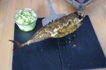 Gebratene Makrele mit Kartoffelstampf (7)