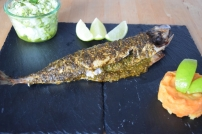 Gebratene Makrele mit Kartoffelstampf (8)