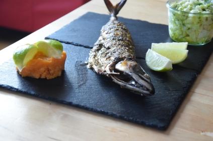 Gebratene Makrele mit Kartoffelstampf (9)