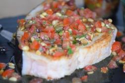 Gebratener Schwertfisch mit Tomatensalsa (6)