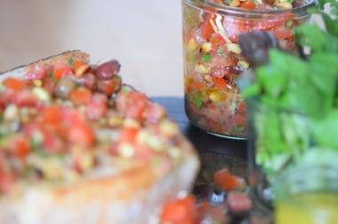 Gebratener Schwertfisch mit Tomatensalsa (7)
