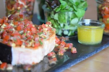 Gebratener Schwertfisch mit Tomatensalsa (8)