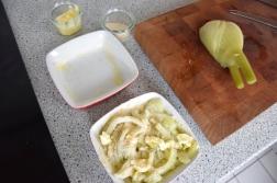 Gegriller Wolfsbarsch und gegrille Ananas (7)
