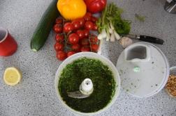 Lammkrone mit Pesto (2)
