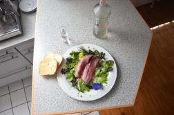Matjes-Filet mit Kräutersalat (3)