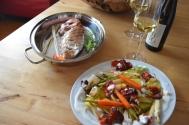 Rotbarsch in Folie mit Gemüse und Zitronenschaum (10)
