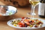 Rotbarsch in Folie mit Gemüse und Zitronenschaum (13)