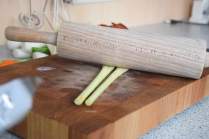 Rotbarsch in Folie mit Gemüse und Zitronenschaum (3)