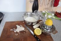 Rotbarsch in Folie mit Gemüse und Zitronenschaum (7)