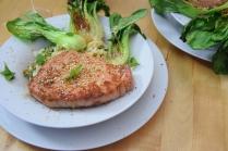 Schweinsrose mit Pak-Choi-Krautsalat (5)