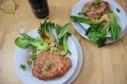 Schweinsrose mit Pak-Choi-Krautsalat (7)
