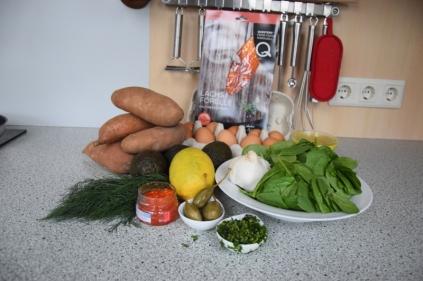 Spinat mit Rösti und Ei (1)