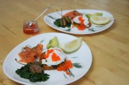 Spinat mit Rösti und Ei (4)