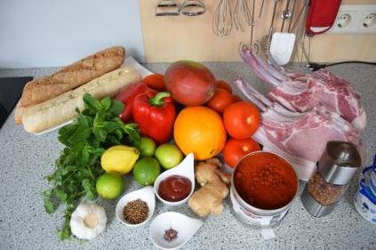 Tomaten-Dip, Mango-Dip, Paprika-Dip (1)