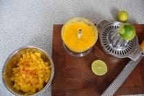 Tomaten-Dip, Mango-Dip, Paprika-Dip (3)