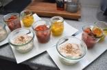 Tomaten-Dip, Mango-Dip, Paprika-Dip (4)
