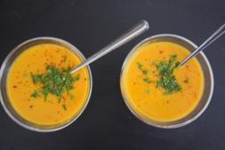 Topinambursuppe Süßkartoffel-Ingwersuppe (4)