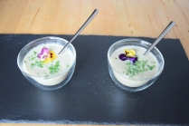 Topinambursuppe Süßkartoffel-Ingwersuppe (6)
